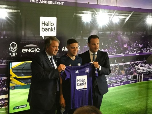 Presentation new e-gamer RSC Anderlecht